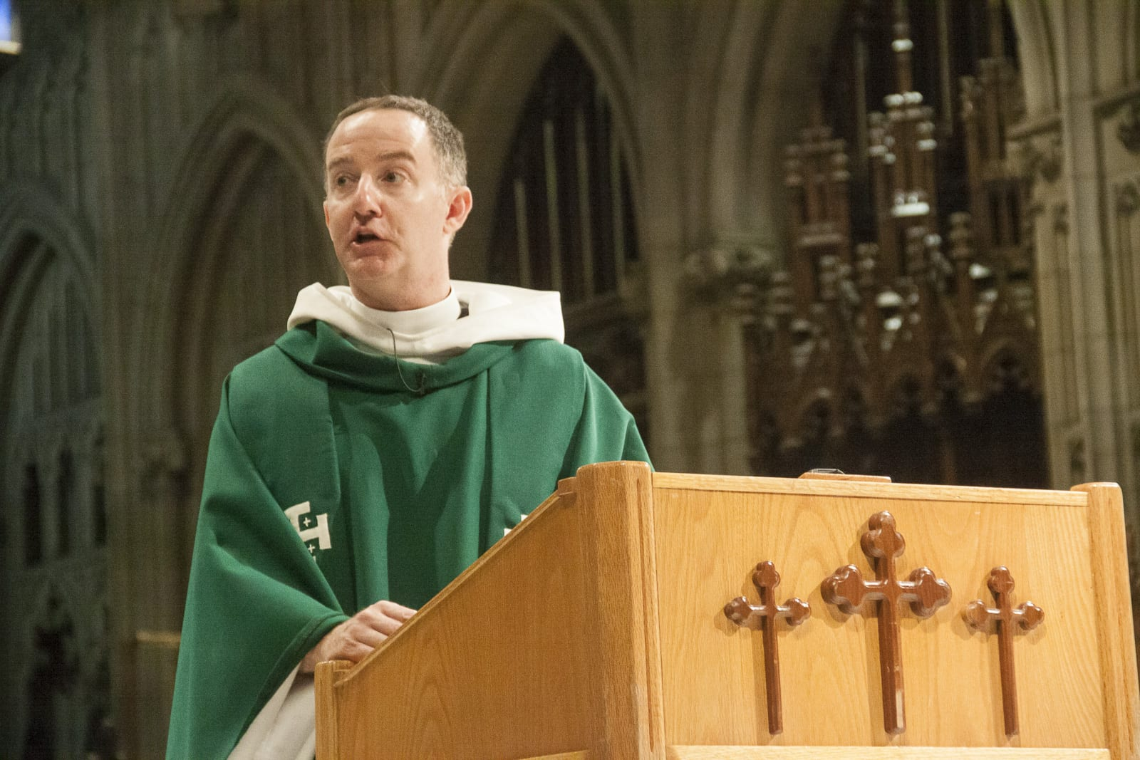 Dean Owens Preaching at the 9 a.m. Mostly Jazz Mass
