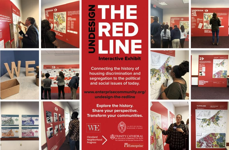 Undesign the Redline Exhibition Graphic